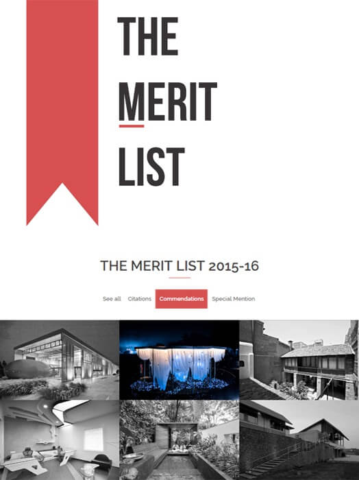 The Merit List 2015-16