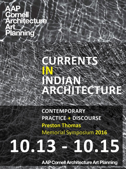 Currents in Indian Architecture