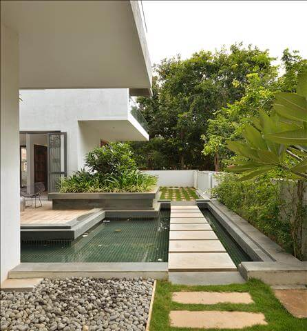 Courtyard House, Bangalore