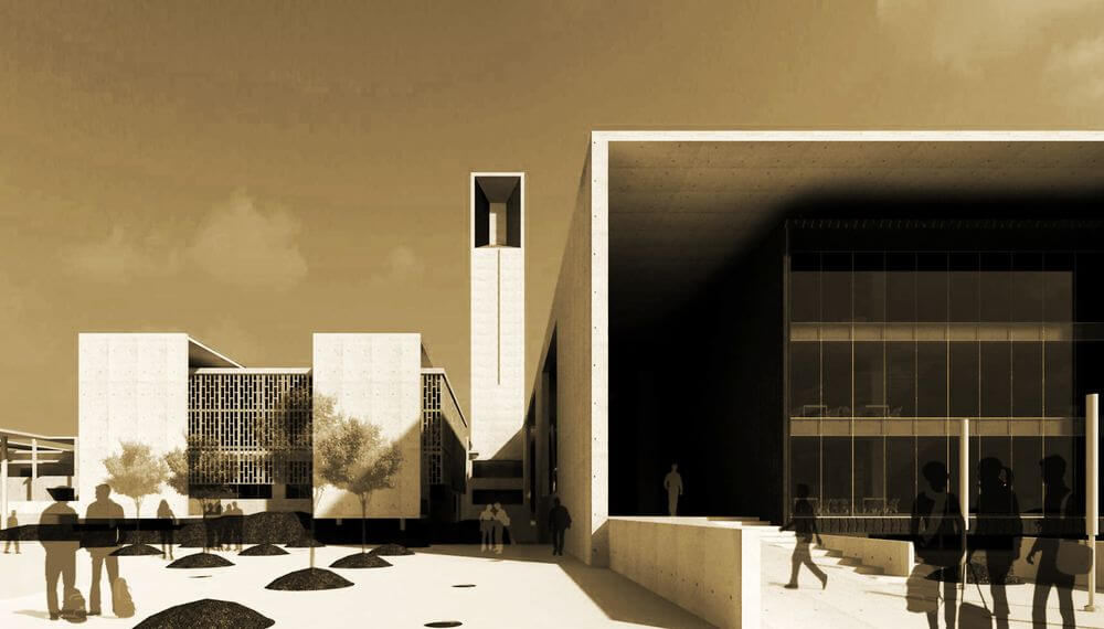 School of planning and architecture bhopal abin design for Studio 11 architecture